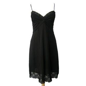 Petite Sun Dress(4855P/BLACK)